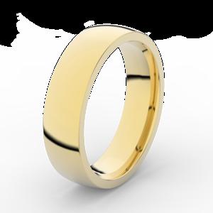 Prsten Danfil Diamonds DLR3498 žluté zlato 585/1000 bez kamene povrch lesk 70