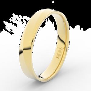 Prsten Danfil DLR3026 žluté zlato 585/1000 bez kamene povrch lesk 54