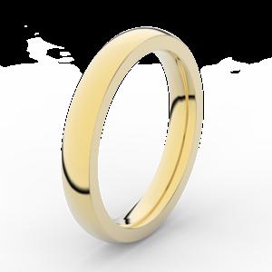 Prsten Danfil DLR3884 žluté zlato 585/1000 bez kamene povrch lesk 59