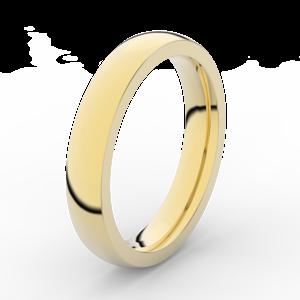 Prsten Danfil DLR3885 žluté zlato 585/1000 bez kamene povrch lesk 46
