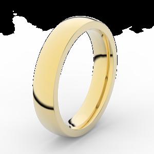 Prsten Danfil DLR3886 žluté zlato 585/1000 bez kamene povrch lesk 56