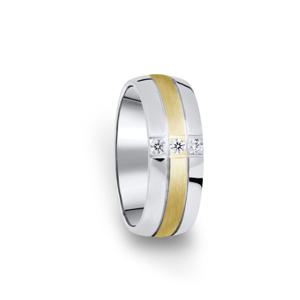 Zlatý dámský prsten DF 14/D, 54