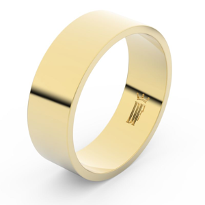 Zlatý snubní prsten FMR 1G70 ze žlutého zlata, bez kamene 47