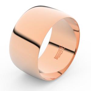 Zlatý snubní prsten FMR 9C110 z růžového zlata, bez kamene 52