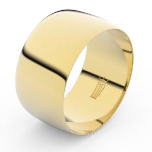Zlatý snubní prsten FMR 9C110 ze žlutého zlata, bez kamene 46